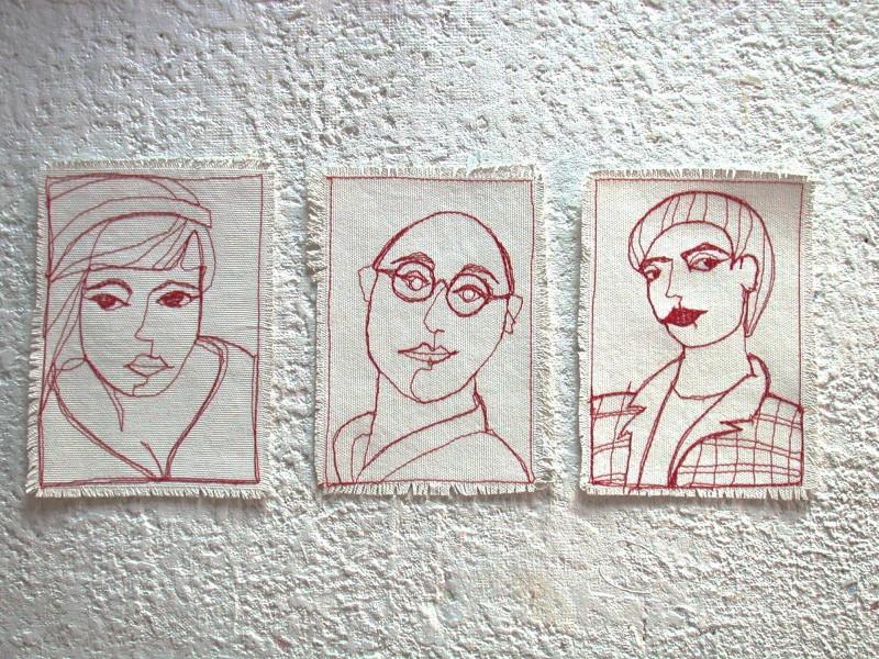 Portraits_Baumwolle, Garne